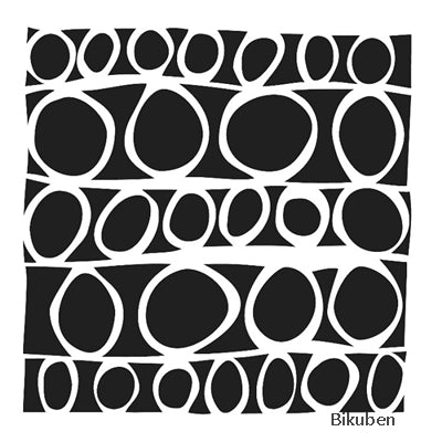 The Crafter's Workshop - Template - Circles in Lines 12x12""