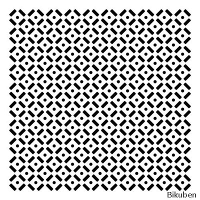 The Crafter's Workshop - Template - Dots & Dashes 12x12""