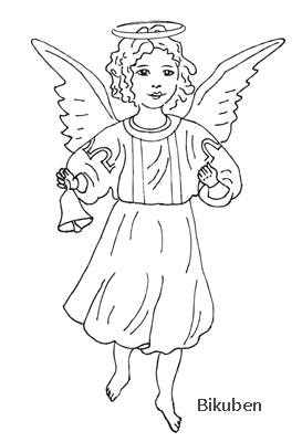 Melissa Frances - Cling Stamp - Angelic Tidings