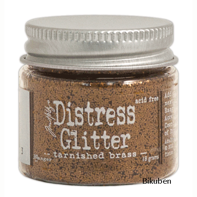 Tim Holtz - Distress Glitter - Tarnished Brass