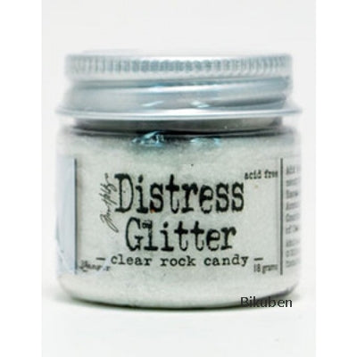 Tim Holtz - Distress Glitter - Clear Rock Candy