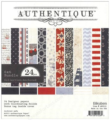 Authentique - Anchored - Collection Kit 12x12""