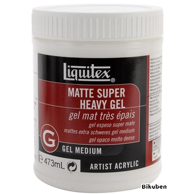 Liquitex - Super Heavy - Gel Medium - Matte 16oz
