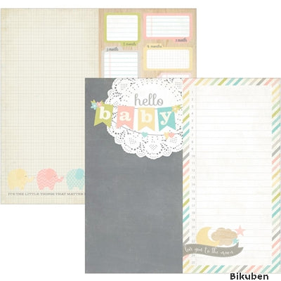"Simple Stories - Hello Baby - 2x12"" Page Elements 12x12"""