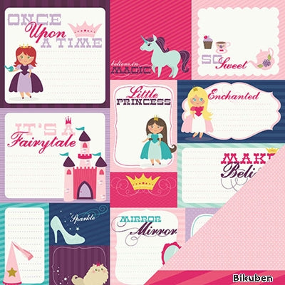 Imaginisce - Little Princess Collection - Once Upon a Time 12x12""
