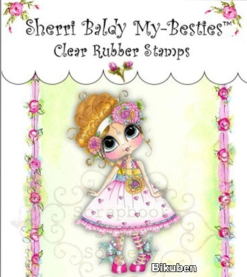 My Besties - Clear Stamp - Sweet Mary Lou