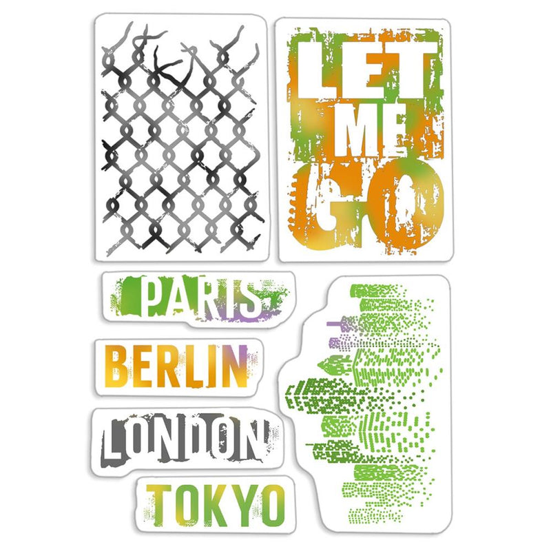 Ciao Bella - Clear Stamps - Bad Girls - Let me go