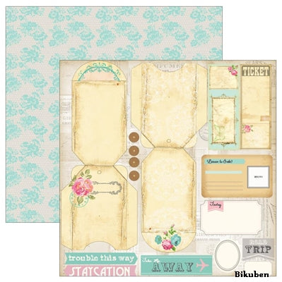 Marion Smith Designs - Posh - Finer Things 12x12""