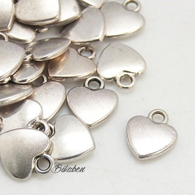 Charms - Antique Silver - Heart