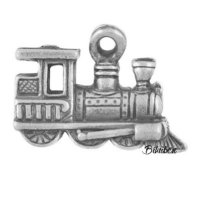 Charms - Antique Silver - Train