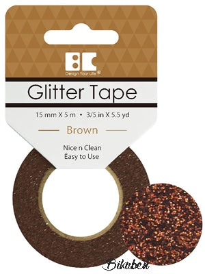 Best Creation - Glitter Tape - Brown