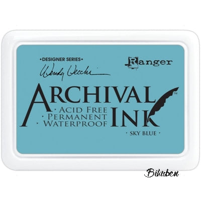 Ranger - Archival Ink Pad - Wendy Vecchi - Sky Blue