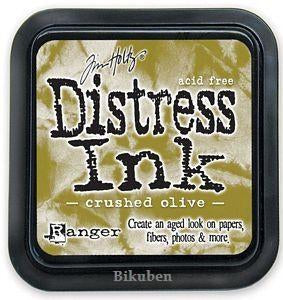 TIm Holtz - Mini Distress Ink Pute - Crushed Olive