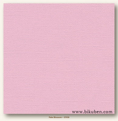 My Colors Cardstock - Canvas - Pale Blossom 12x12""