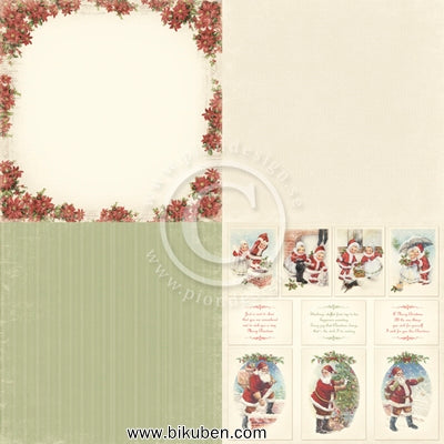 Pion Design - Christmas in Norway - Pionsettia        6 x 6 tum
