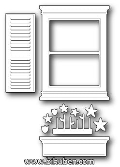 Poppystamps - Dies - Small Madison Window Set