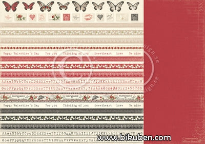 Pion Design - To my Valentine - Borders 12x12""