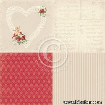 Pion Design - To my Valentine - In My Heart 6x6 tum