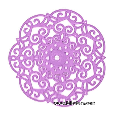 Prima - Purple Metal Die - Embroidery Doily