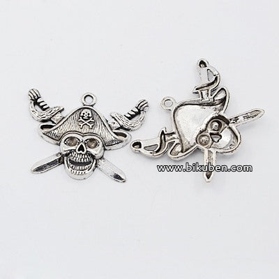 Charms - Antique Silver - Pirat