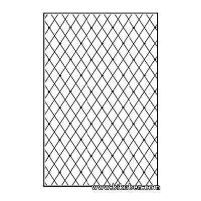 Nellie Snellen - A4 Embossing Folder - Lattice
