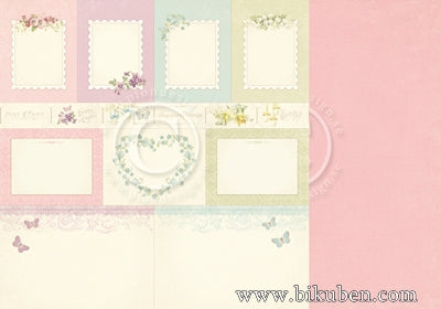 Pion Design - Easter Greetings - Memory Notes 12x12""