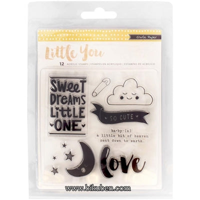 Crate Paper - Little You - Clear Stamps