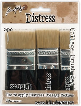 Tim Holtz - Collage -  Brush 3pk