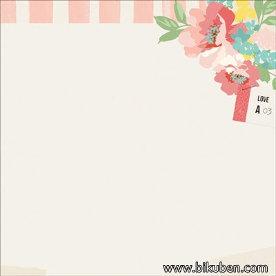 KaiserCraft - Finder's Keepers - Floral Ticket 12x12""