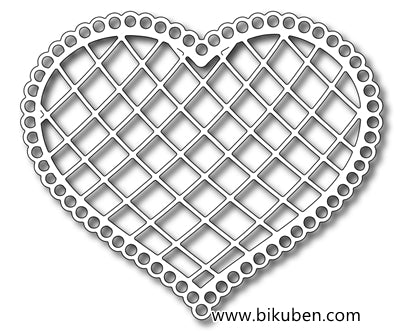Frantic Stamper - Lattice Heart - Dies