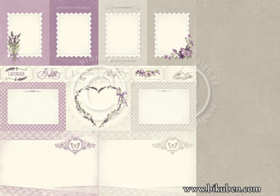 Pion Design - Scent of Lavender - Memory Notes 12x12""