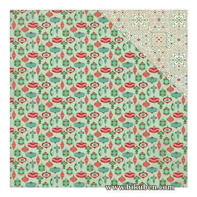 Authentique - Retro Christmas - Five 12x12""
