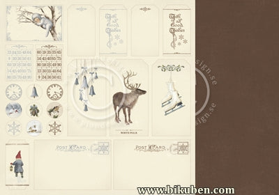 Pion Design - Greetings from the North Pole - Tags 12x12""