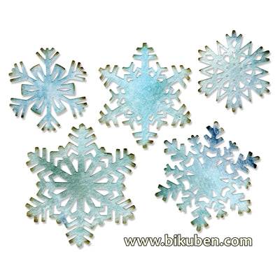 Sizzix - Tim Holtz Alterations - Thinlits - Paper Snowflakes