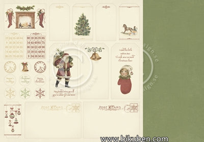 Pion Design - The Night Before Christmas - Tags 12x12""