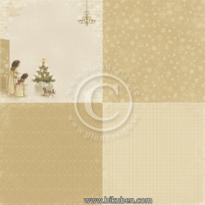 Pion Design - The Night Before Christmas - Just a Peek 6x6 Tum