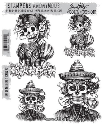 Tim Holtz Collection - Day of the Dead - Stamps