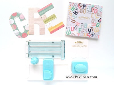 We are Memory Keepers - Alphabet Punch Board