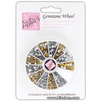 Anita's - Gemstone Wheel - Gold & Silver