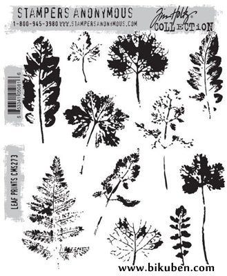 Tim Holtz Collection - Leaf Prints - Stamps