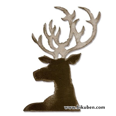 Sizzix - Tim Holtz Alterations - Bigz Die - Dashing Deer