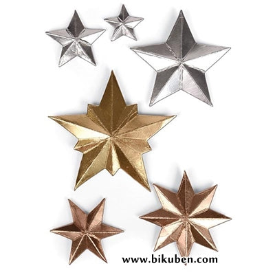 Sizzix - Tim Holtz Alterations - Thinlits - Dimensional Stars