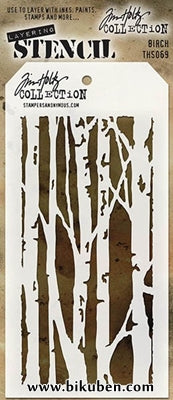 Tim Holtz - Stencil - Birch