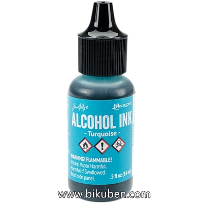 Tim Holtz - Alcohol Inks - Turqoise