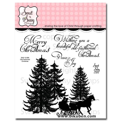 Sweet'n Sassy - Clear Stamps - Old Fashioned Christmas