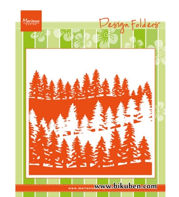 Marianne Design - Embossing Folder - Forest
