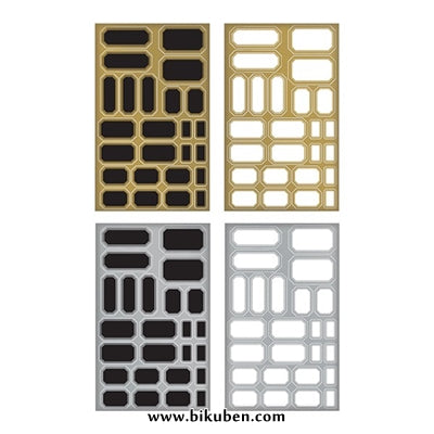 Tim Holtz - Idea-Ology - Metallic Stickers - Labels