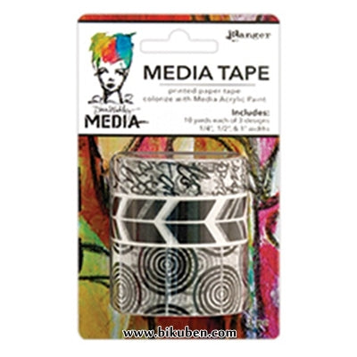 Dina Wakley Media - Tape - Printed