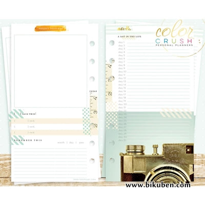 Webster's Pages - Color Crush Planner - Memory Keeper