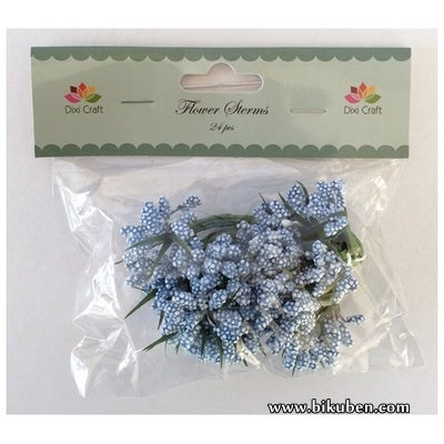 Dixi Craft - Flower Stems -  Blue - Large